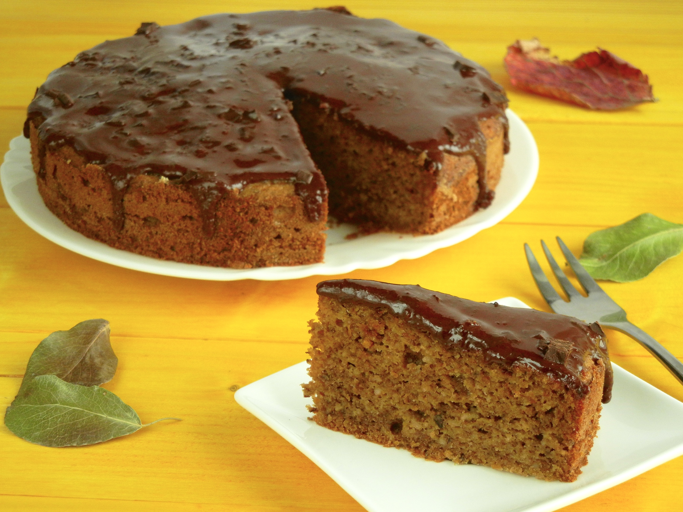 Šťavnatá orechová torta