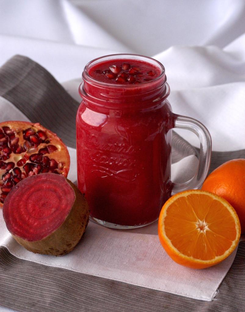 pomarancovo cviklove smoothie