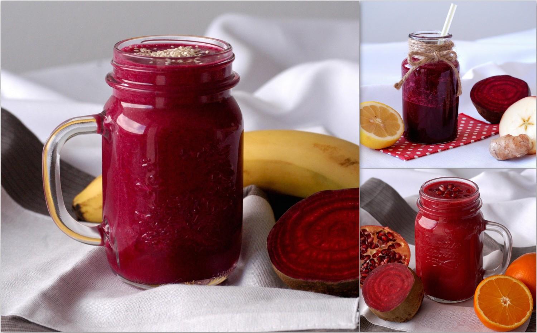 3 recepty na cviklový smoothie