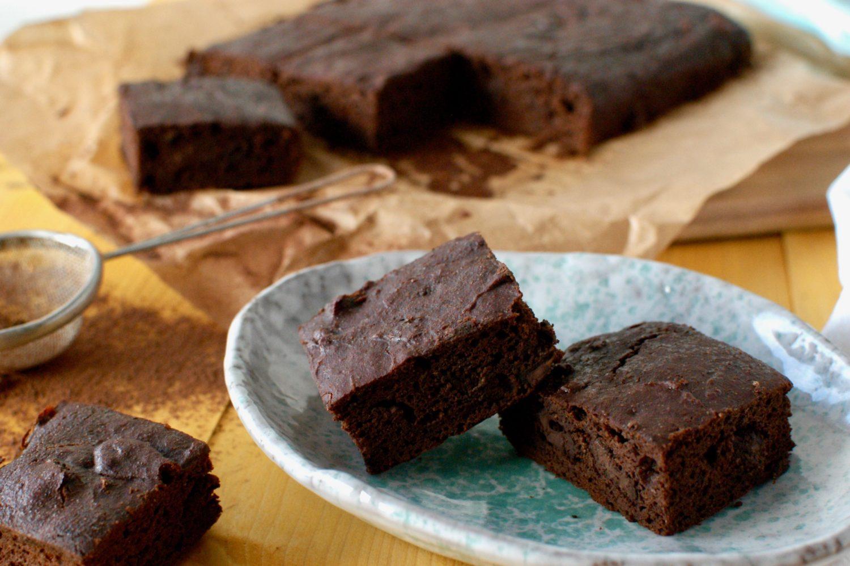 Čokoládové brownies so skrytou tekvicou