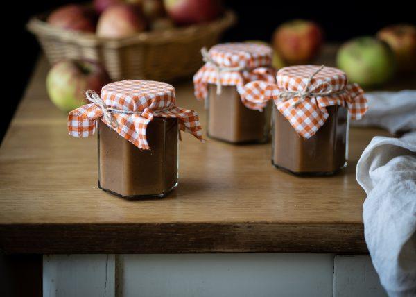 jablká, zaváraniny, jablkové maslo