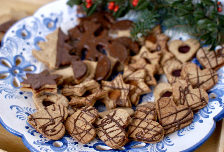 Vianočné orechové pečivo
