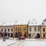 zimný rodinný výlet v Levoči