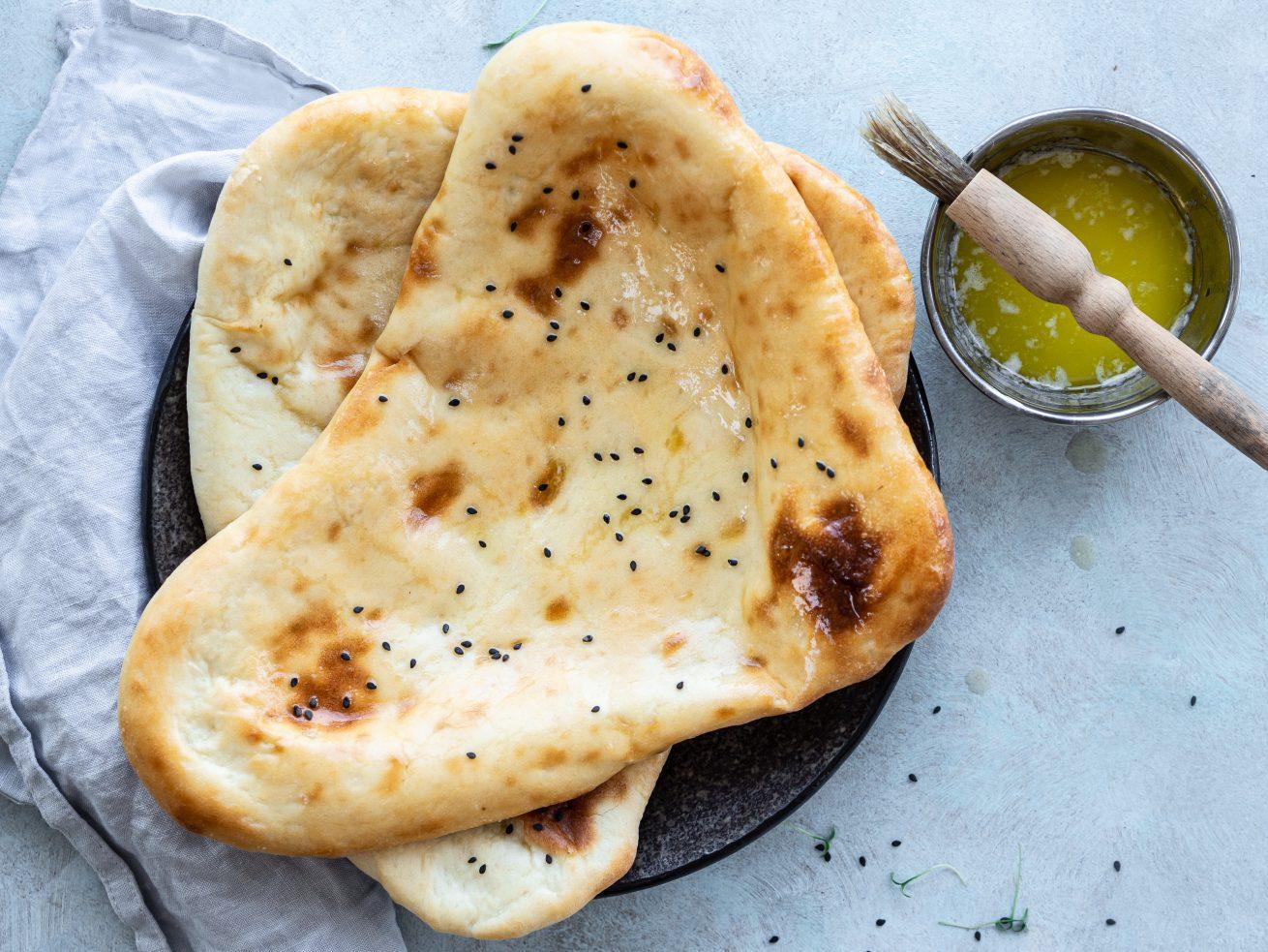 indický chlieb