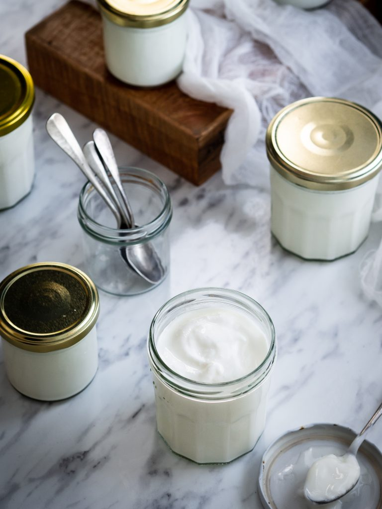 príprava domáceho jogurtu