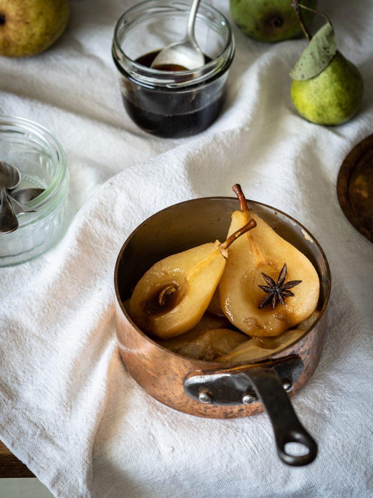 hrušky, rajnica, sirup, badián